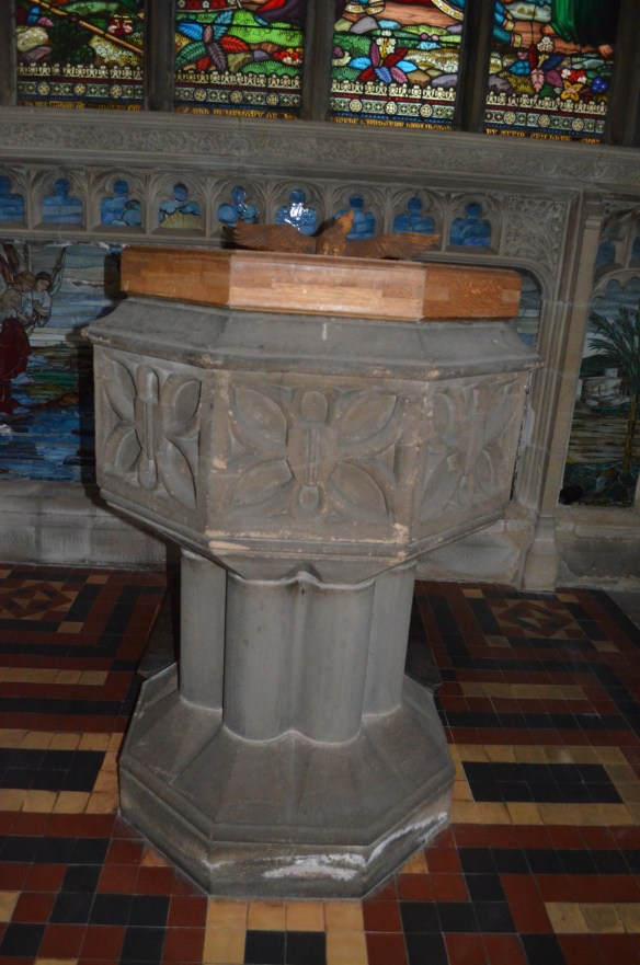 Wilfrid baptismal