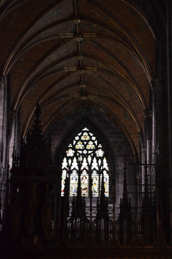 Chester cathedral window 2