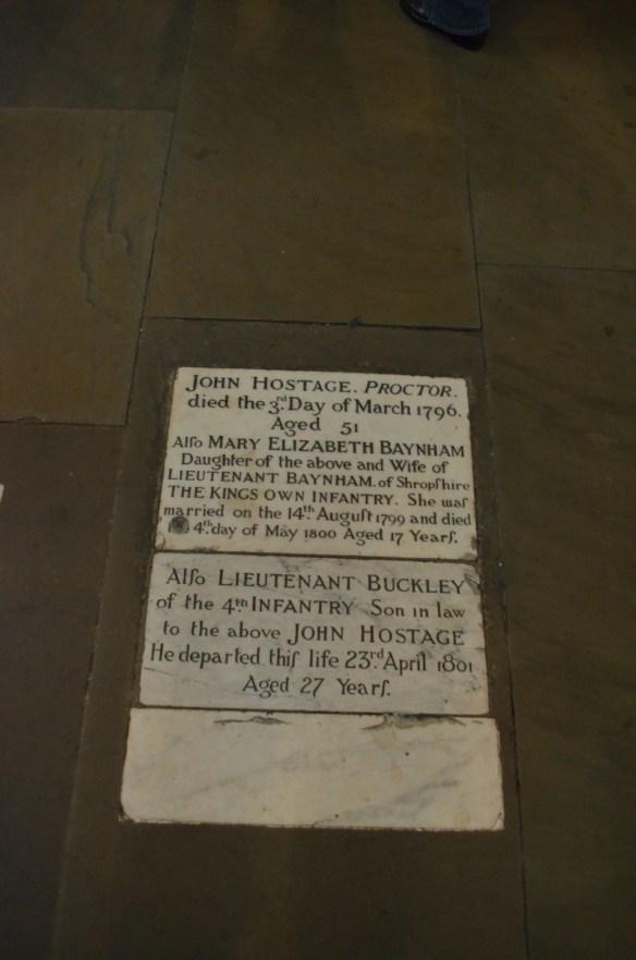 Chester floor burial