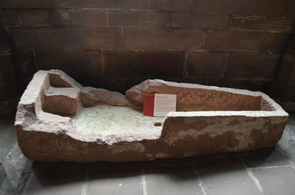 Chester stone coffin
