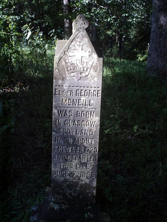 Geo McNiel stone 2