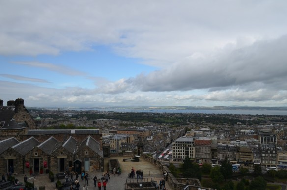 edinburgh from castle