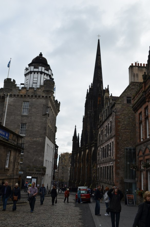 Edinburgh high street