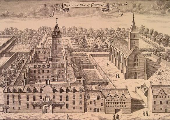 glasgow college 1660
