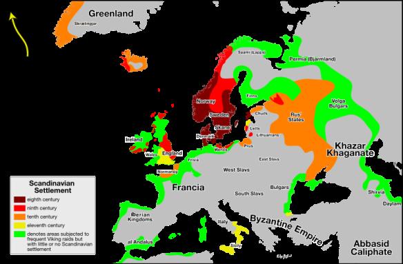 scandinavian settlements