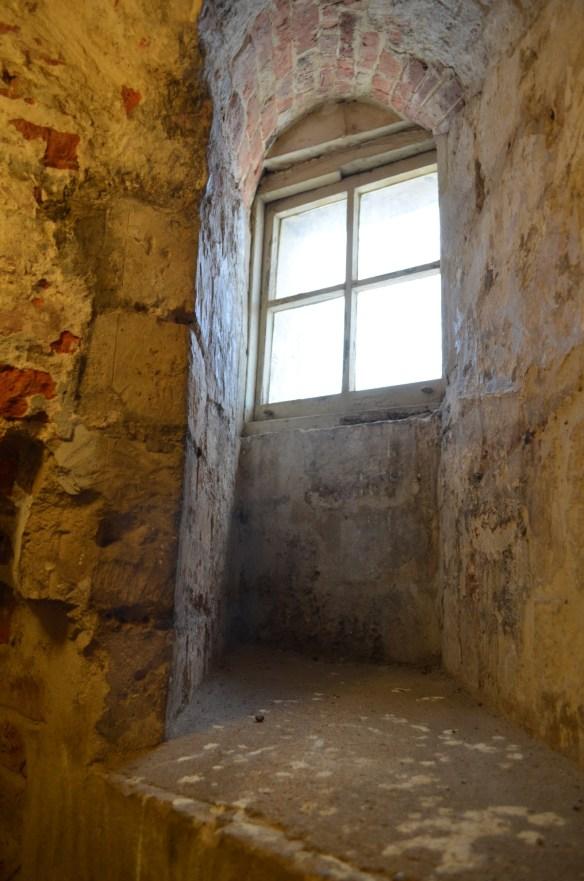 deal castle privy window