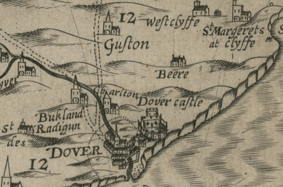 dover 1596 map