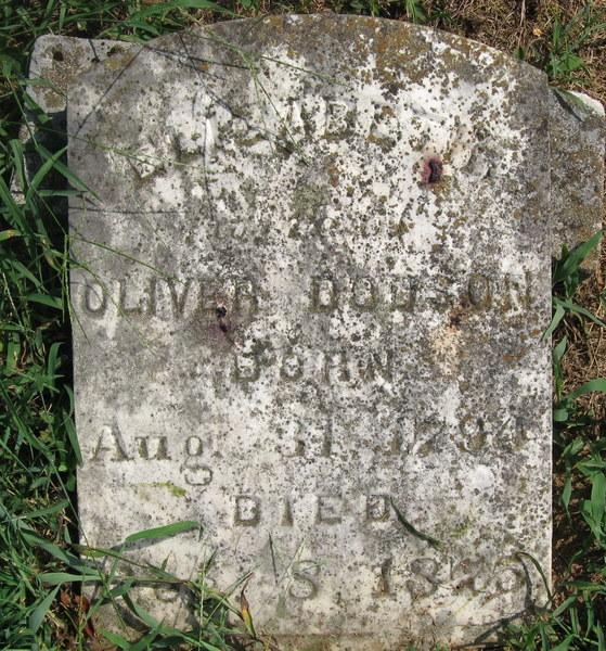 oliver dodson stone