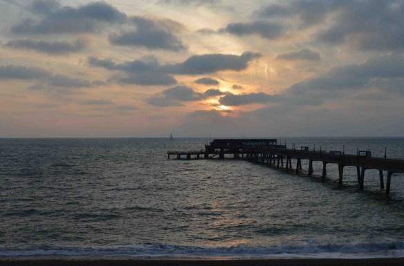 pier sunrise day 3