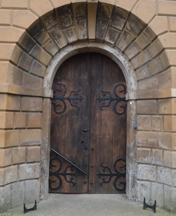 st leonard north door close