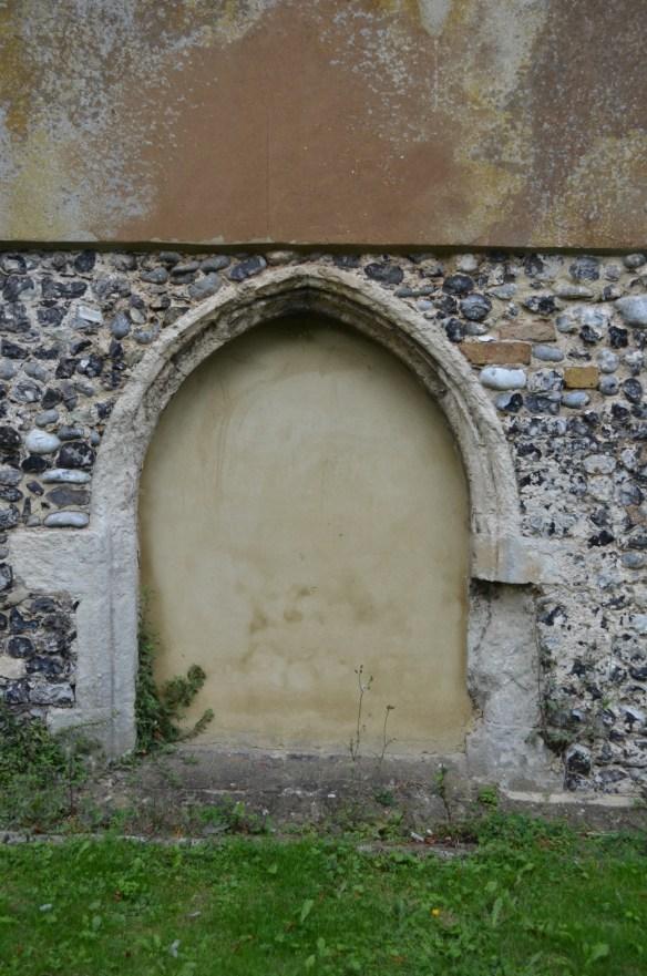 st leonard south door