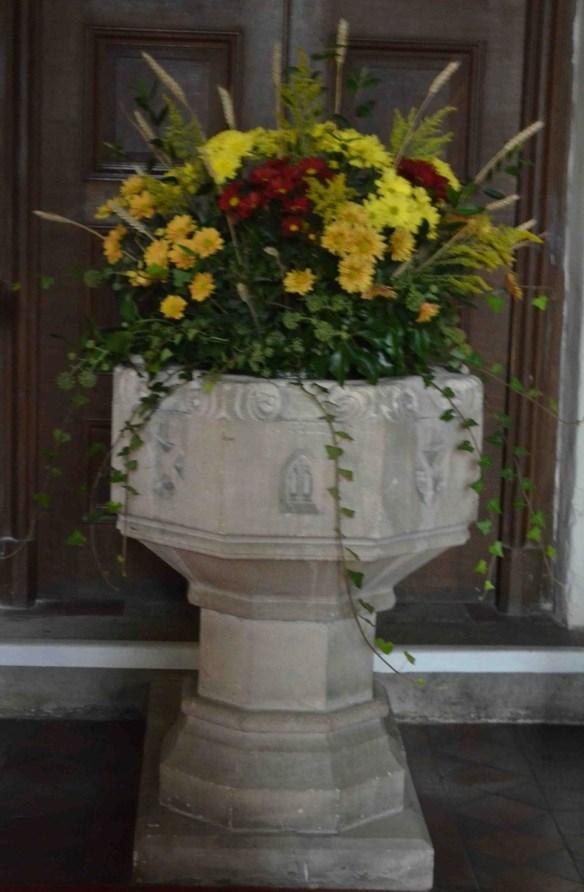 St Nicholas Ringwould bapistry