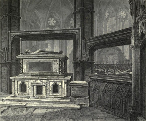 eleanor tomb westminster drawing