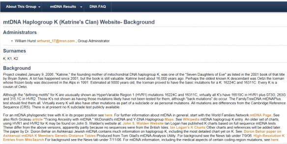 haplogroup proj 5