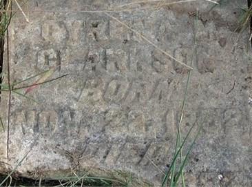 Clarkson cemetery Cyrena