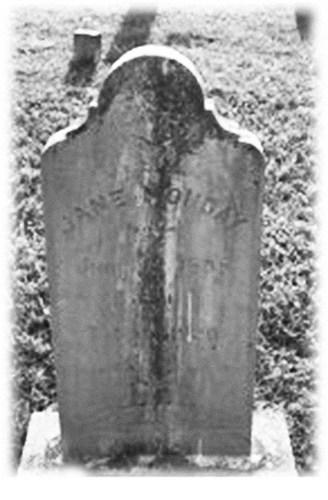 Clarkson, Jane cemetery