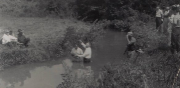 creek baptism