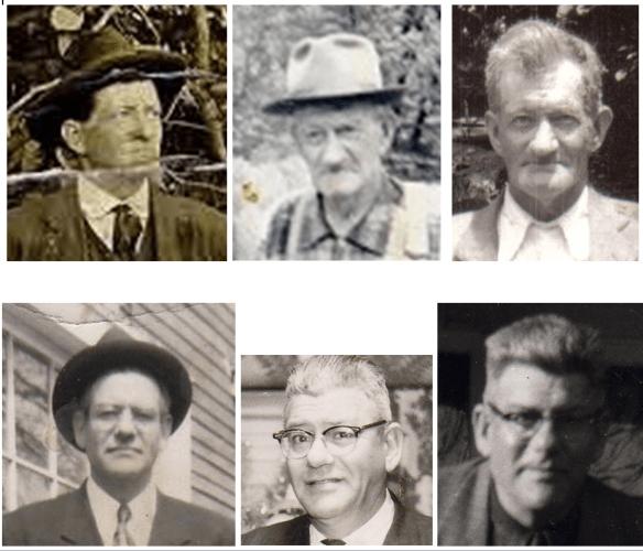 William George and William Sterling Estes composite