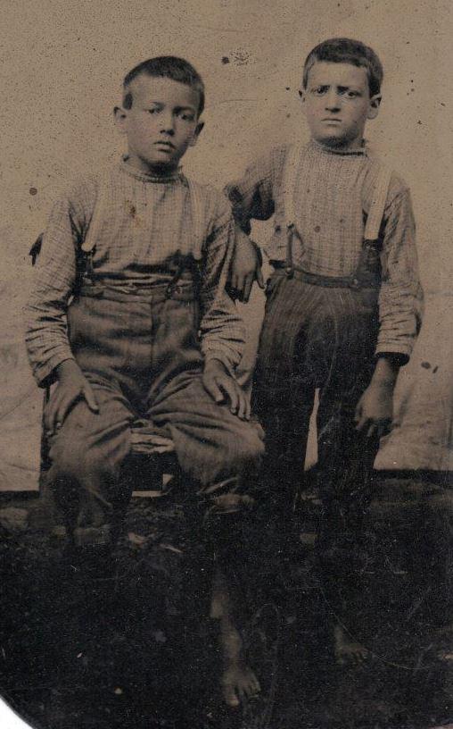 Charlie Tomas and James Columbus Estes