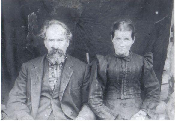 Estes possibly Lazarus and Elizabeth