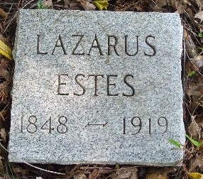 Lazarus Estes new stone