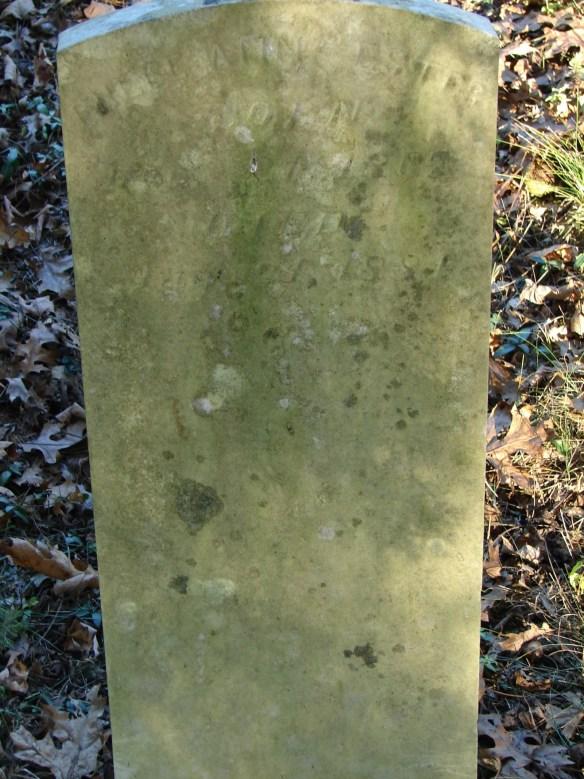 Phebe Ann Estes stone