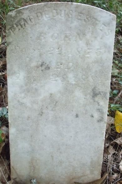 Thaddeous Estes stone