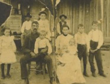 John Reagan Estes family 1905