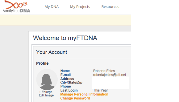 Personal info