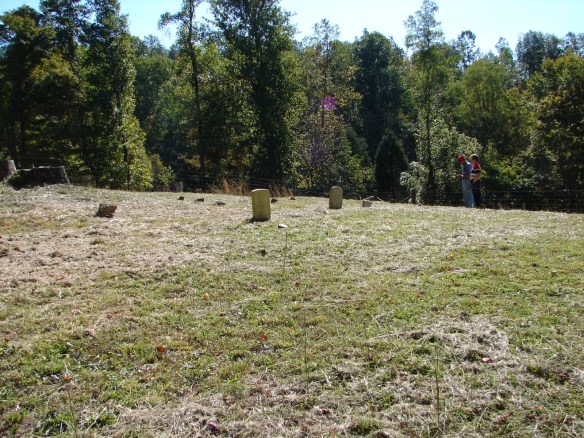 Upper Estes Cemetery unmarked