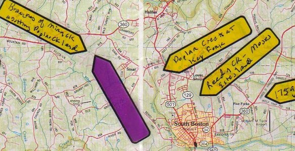 Estes Grubby on map