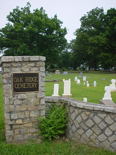 Oak Ridge cem entrance