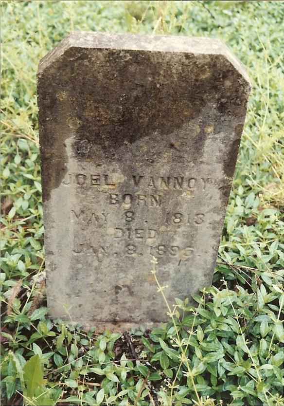 Joel Vannoy marker