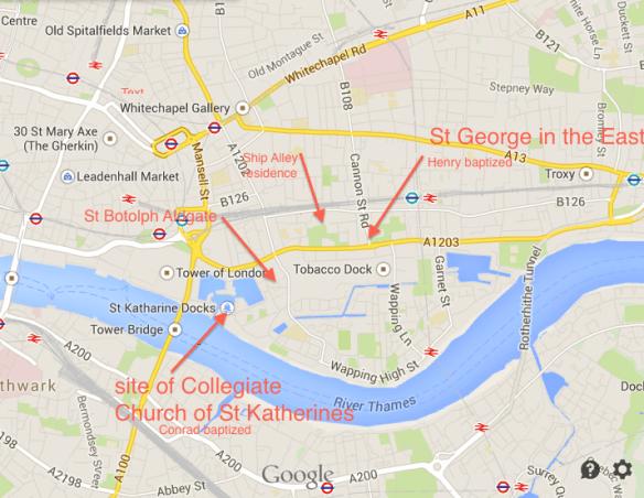 London Bolton map