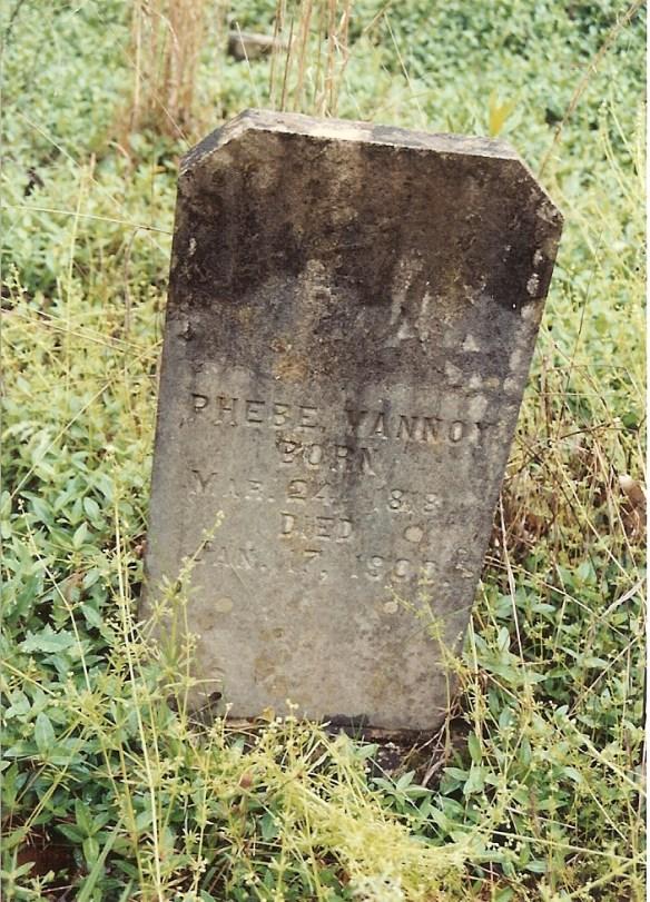 Phebe Vannoy stone