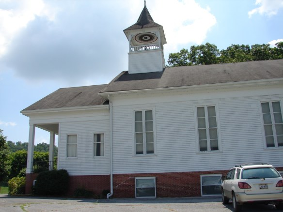 Cross Anchor church