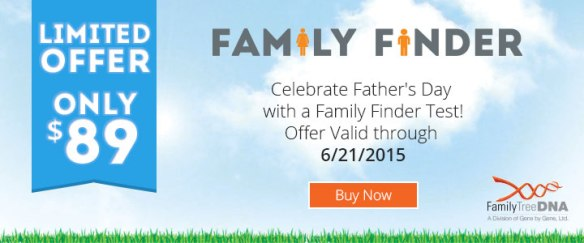 FTDNA Father's Day