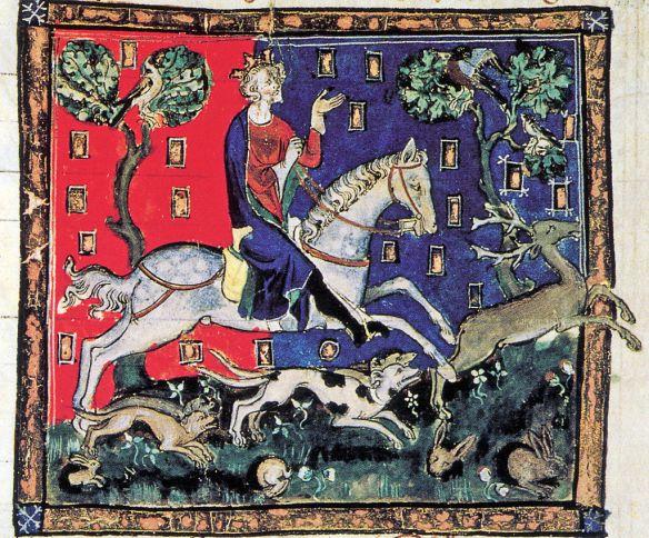 King John hunting