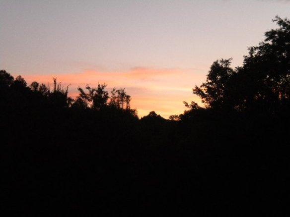 Brush Creek sunset