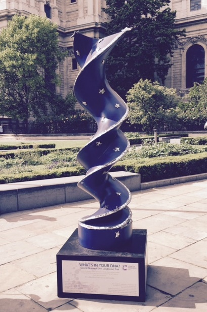 DNA Sculpture 1