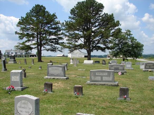Wesley's cemetery