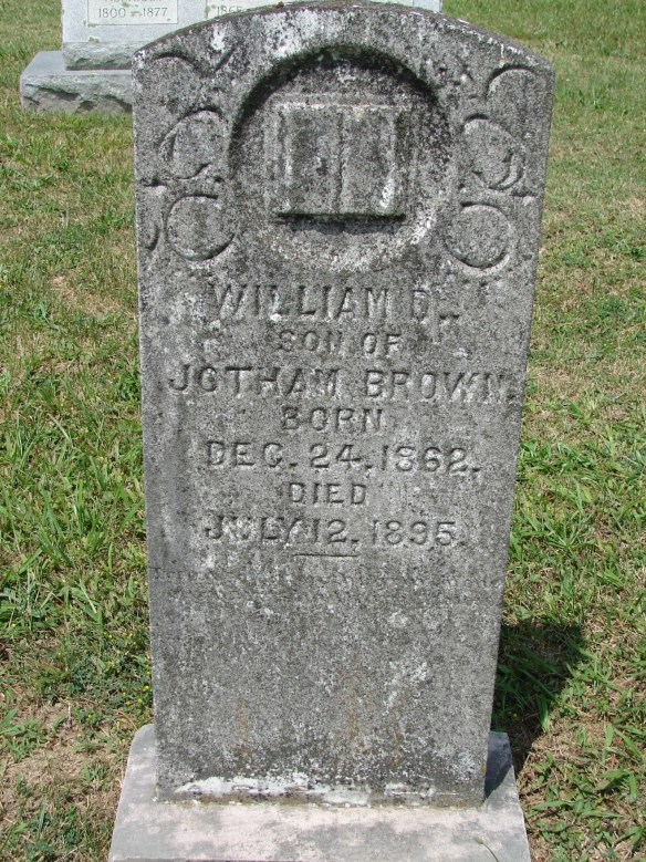 Wesley's William Brown stone