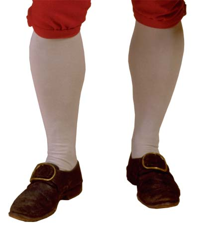 colonial shoes stockings and breeches