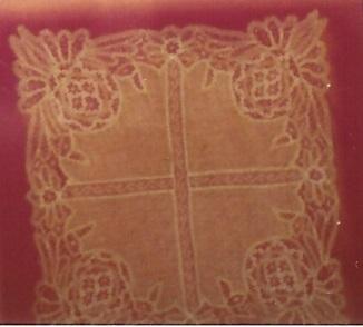 Kirsch Lace handkerchief