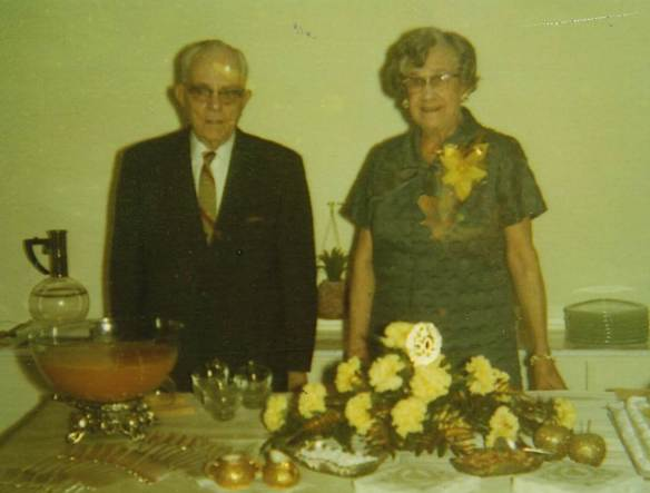 Mildred and Claude Martin 50th anniversary