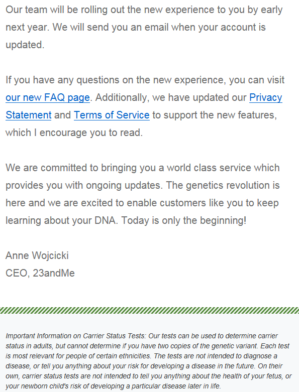 23andMe to Get a Makeover After Agreement with FDA | DNAeXplained