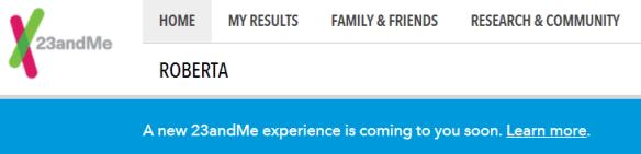 FDA 23andMe New Experience