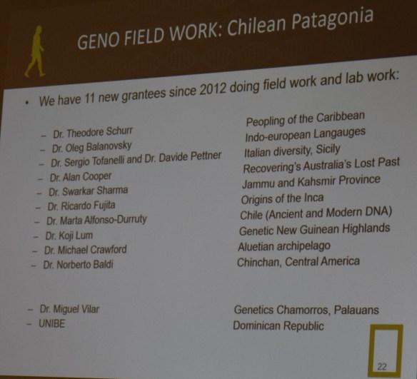2015 ftdna vilar field work
