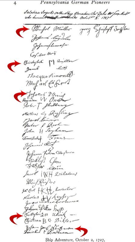 1727 adventure passenger list