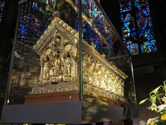 Charlemagne casket